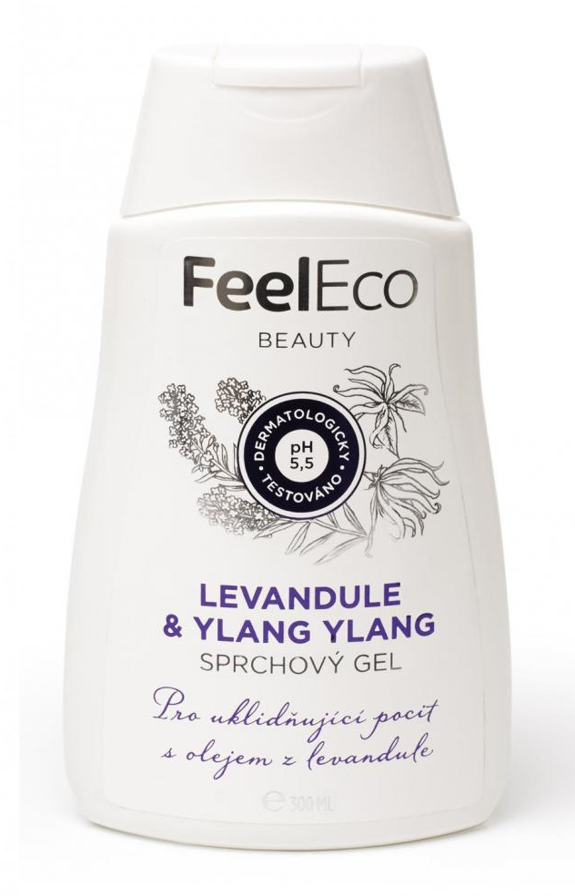 FEEL ECO Sprchový gel levandule & Ylang Ylang - 300ml