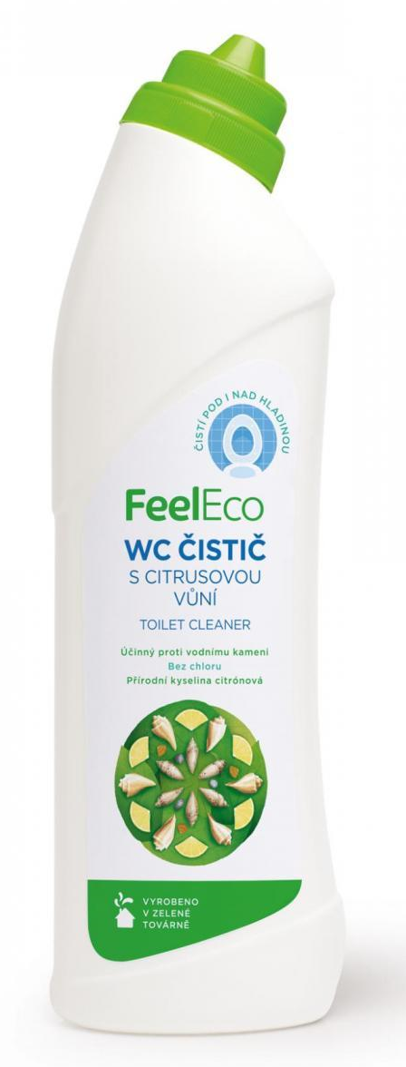 FEEL ECO WC čistič s citrusovou vůní - 750ml