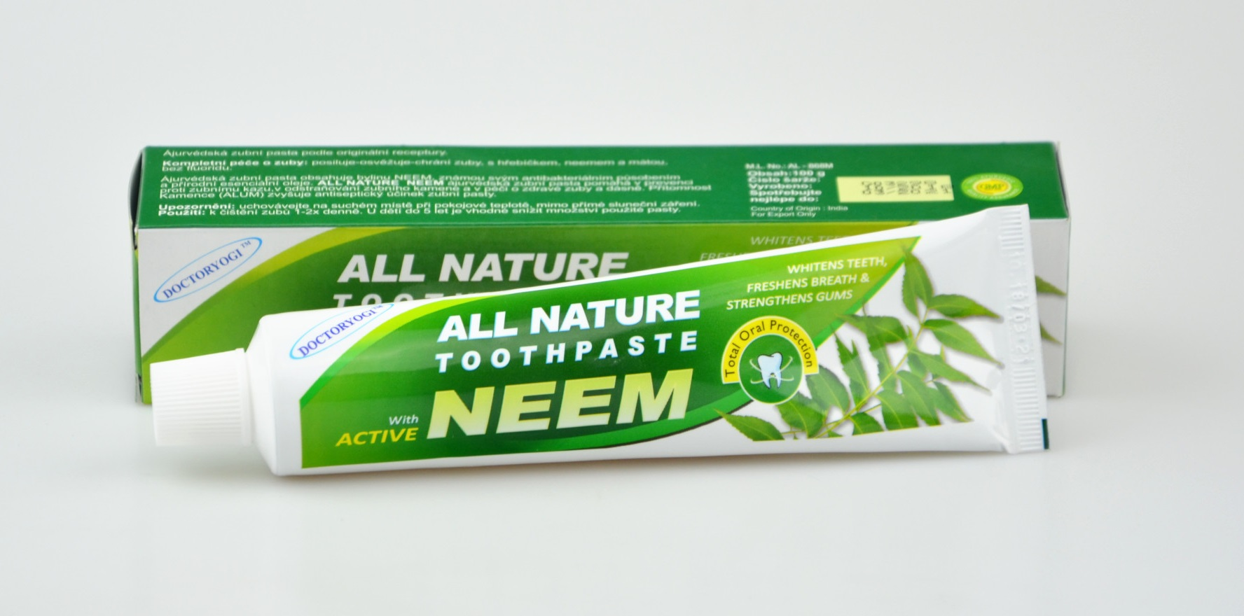 ALL NATURE NEEM - zubní pasta 100g